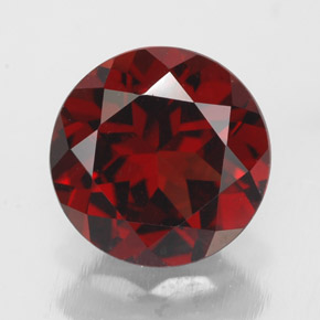Buy 3.23 ct Deep Red Pyrope Garnet 9.02 mm  from GemSelect (Product ID: 308461)