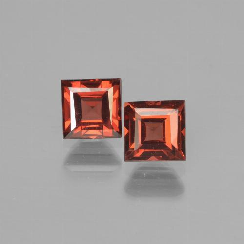 thumb image of 0.9ct Square Step-Cut Red Pyrope Garnet (ID: 451103)