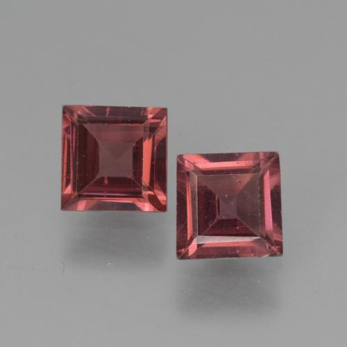 0.7ct Square Step-Cut Red Pyrope Garnet Gem (ID: 451196)