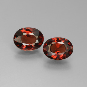 Red Pyrope Garnet Gem - 1.4ct Oval Facet (ID: 451753)