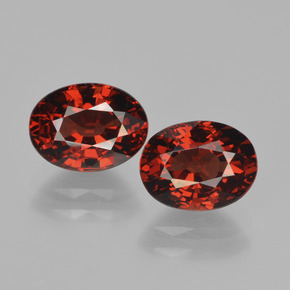Red Pyrope Garnet Gem - 1.9ct Oval Facet (ID: 451766)