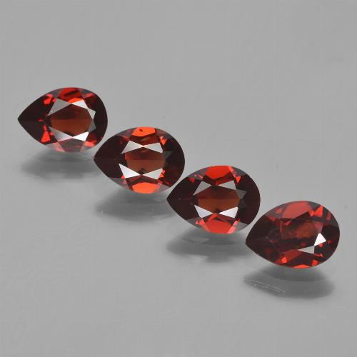 0.8ct Pear Facet Deep Red Pyrope Garnet Gem (ID: 453047)