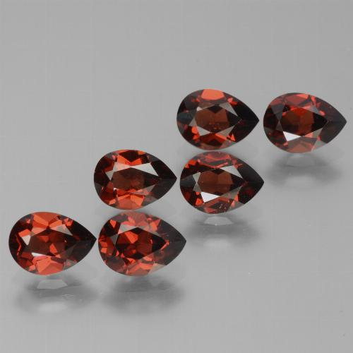 0.9ct Pear Facet Deep Red Pyrope Garnet Gem (ID: 453071)