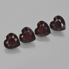 Buy 2.99 ct Deep Red Pyrope Garnet 6.01 mm x 6 mm from GemSelect (Product ID: 456520)