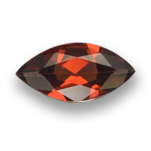 1.5ct Marquise Facet Medium Red Pyrope Garnet Gem (ID: 462024)