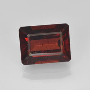 3.2ct Octagon Step Cut Deep Red Pyrope Garnet Gem (ID: 462123)