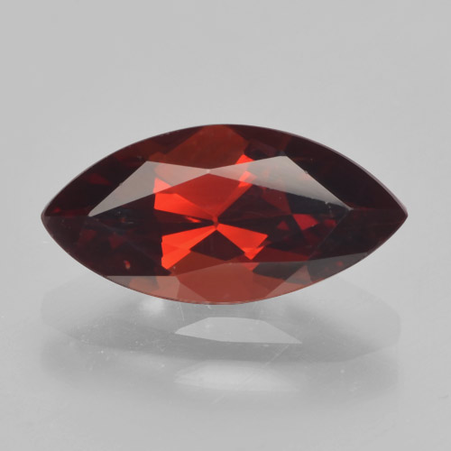 2.1ct Marquise facette Deep Blood Red Grenat Pyrope gemme (ID: 463162)