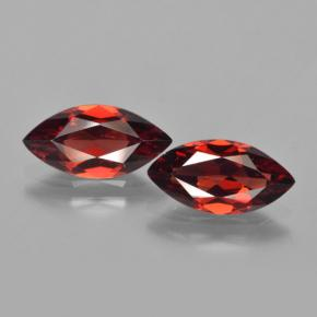 1.7ct Marquise Facet Merlot Red Pyrope Garnet Gem (ID: 463288)
