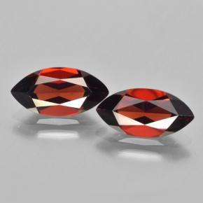 Red Pyrope Garnet Gem - 2.1ct Marquise Facet (ID: 463291)