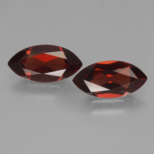 2ct Marquise Facet Deep Red Pyrope Garnet Gem (ID: 463330)
