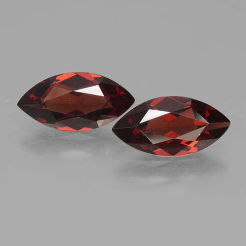 1.9ct Marquise Facet Deep Red Pyrope Garnet Gem (ID: 463331)