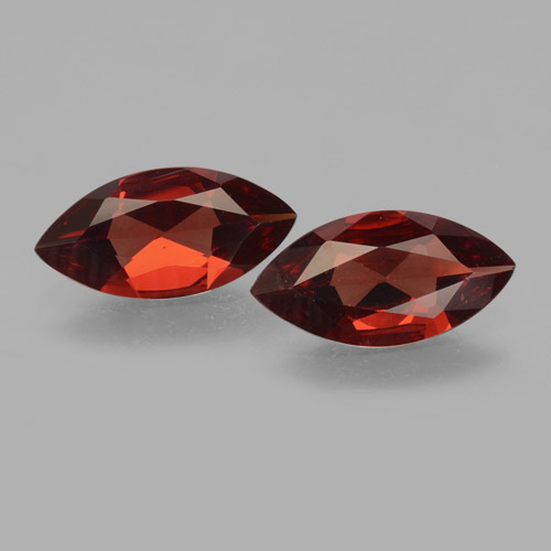 1.5ct Marquise Facet Dark Red Pyrope Garnet Gem (ID: 463335)