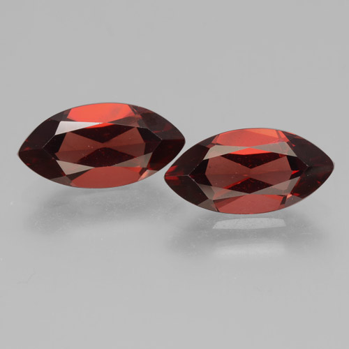 2.2ct Marquise Facet Sangria Red Pyrope Garnet Gem (ID: 463339)
