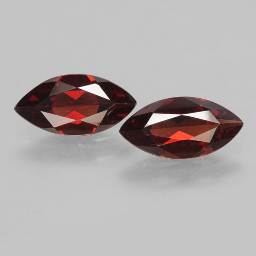 1.8ct Marquise Facet Dark Red Pyrope Garnet Gem (ID: 463340)