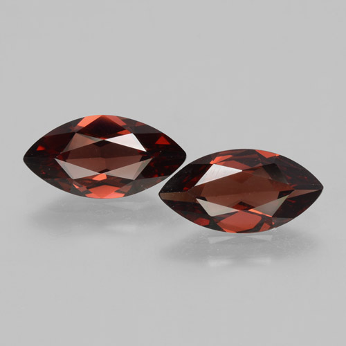 1.8ct Marquise Facet Sangria Red Pyrope Garnet Gem (ID: 463377)
