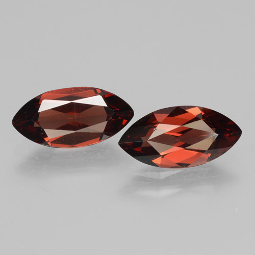 2ct Marquise Facet Sangria Red Pyrope Garnet Gem (ID: 463380)