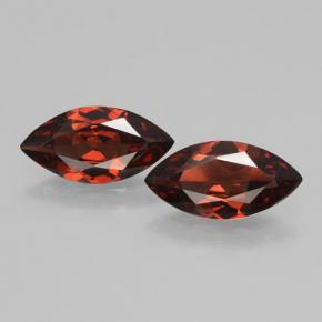 1.7ct Marquise Facet Sangria Red Pyrope Garnet Gem (ID: 463381)