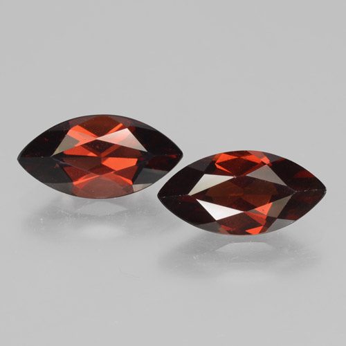 2.15 ct Marquise Facet Sangria Red Pyrope Garnet Gemstone 12.06 mm x 6.1 mm (Product ID: 463382)