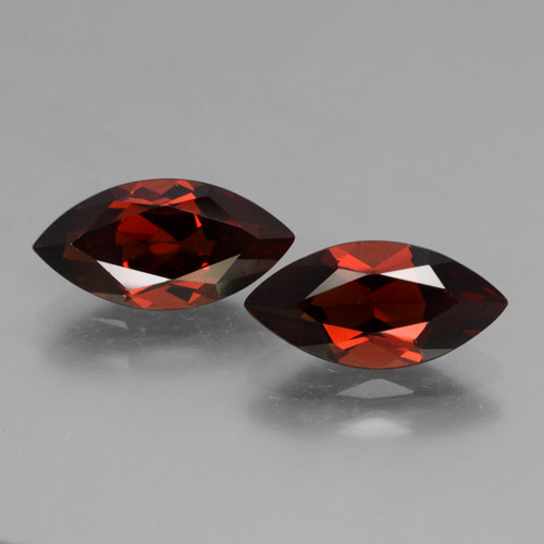2.1ct Marquise Facet Sangria Red Pyrope Garnet Gem (ID: 463437)