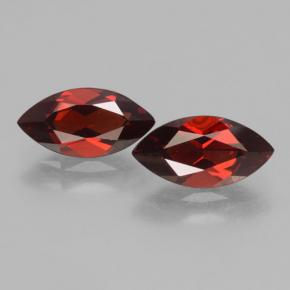 2.2ct Marquise Facet Deep Red Pyrope Garnet Gem (ID: 463490)