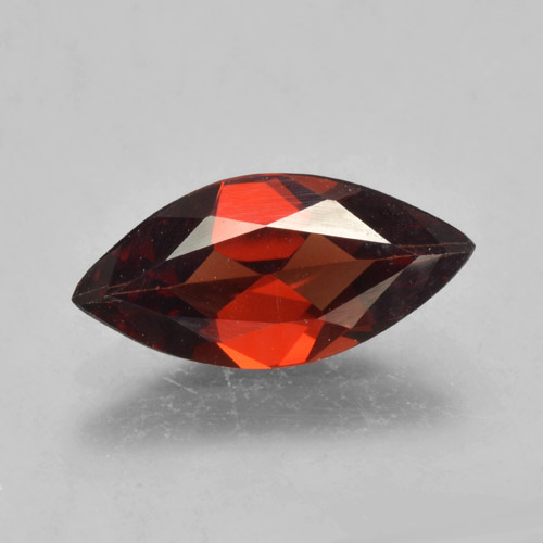1.8ct Marquise Facet Dark Red Pyrope Garnet Gem (ID: 463928)
