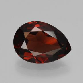 thumb image of 2.4ct Pear Facet Red Pyrope Garnet (ID: 465127)
