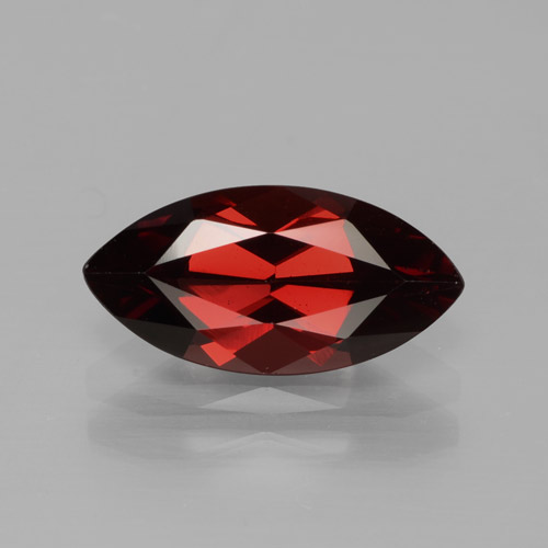 2.1ct Marquise Facet Red Pyrope Garnet Gem (ID: 465747)