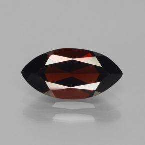 2.3ct Marquise Facet Blackish Red Pyrope Garnet Gem (ID: 465749)