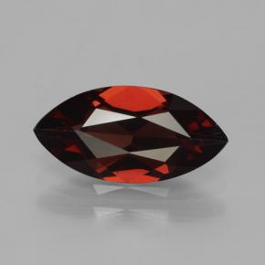 1.8ct Marquise Facet Dark Red Pyrope Garnet Gem (ID: 465756)
