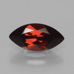 2.3ct Marquise Facet Deep Red Pyrope Garnet Gem (ID: 465757)