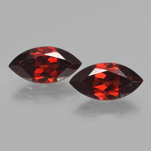 2.2ct Marquise Facet Dark Red Pyrope Garnet Gem (ID: 465758)