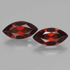 Red Pyrope Garnet Gem - 1.8ct Marquise Facet (ID: 465762)