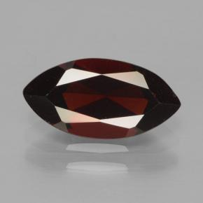 2.3ct Marquise Facet Dark Red Pyrope Garnet Gem (ID: 465782)