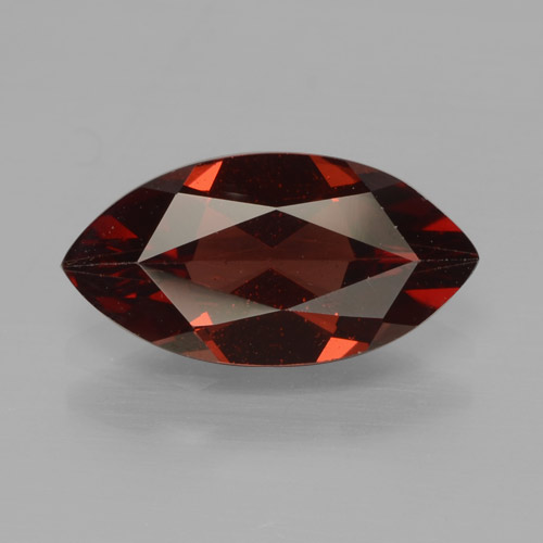 1.8ct Marquise Facet Dark Red Pyrope Garnet Gem (ID: 465784)