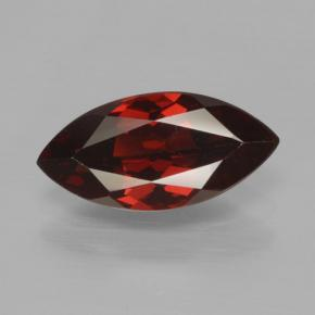 1.9ct Marquise Facet Dark Red Pyrope Garnet Gem (ID: 465787)