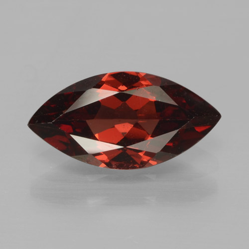 1.8ct Marquise facette Deep Blood Red Grenat Pyrope gemme (ID: 465788)