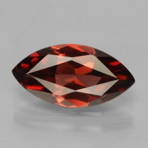 Red Pyrope Garnet Gem - 2ct Marquise Facet (ID: 465815)