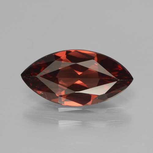 1.8ct Marquise Facet Dark Red Pyrope Garnet Gem (ID: 465836)