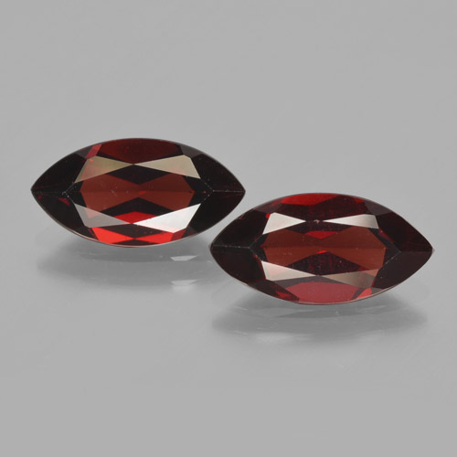 2ct Marquise Facet Deep Red Pyrope Garnet Gem (ID: 465845)
