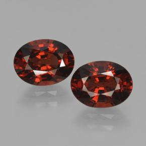 Red Pyrope Garnet Gem - 1.6ct Oval Facet (ID: 466062)