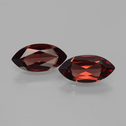 1.9ct Marquise Facet Deep Red Pyrope Garnet Gem (ID: 466118)