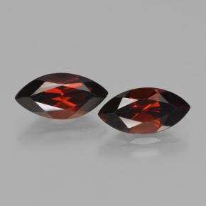 Dark Red Pyrope Garnet Gem - 2.5ct Marquise Facet (ID: 466190)
