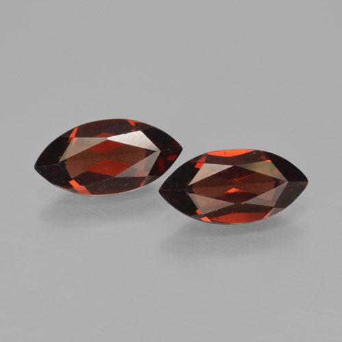 1.8ct Marquise Facet Deep Red Pyrope Garnet Gem (ID: 466196)