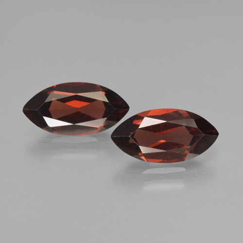 2ct Marquise Facet Deep Red Pyrope Garnet Gem (ID: 466201)