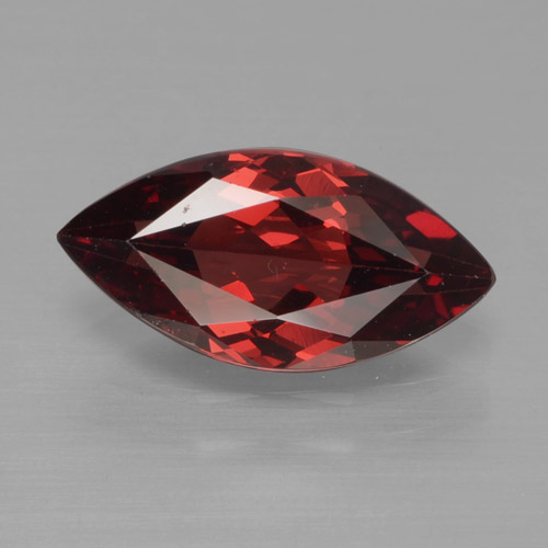 1.8ct Marquise Facet Deep Red Pyrope Garnet Gem (ID: 466220)