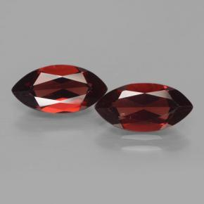 Red Pyrope Garnet Gem - 2.2ct Marquise Facet (ID: 466227)
