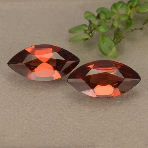 thumb image of 0.9ct Marquise Facet Red Pyrope Garnet (ID: 479072)