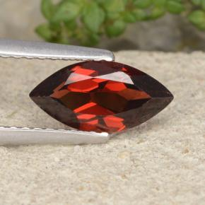 Red Pyrope Garnet Gem - 1.5ct Marquise Facet (ID: 479379)
