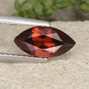 Red Pyrope Garnet Gem - 1.4ct Marquise Facet (ID: 479381)