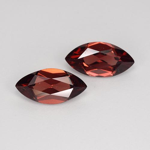 Red Pyrope Garnet Gem - 1.2ct Marquise Facet (ID: 479540)